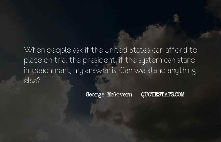 Quotes About Impeachment #1541486