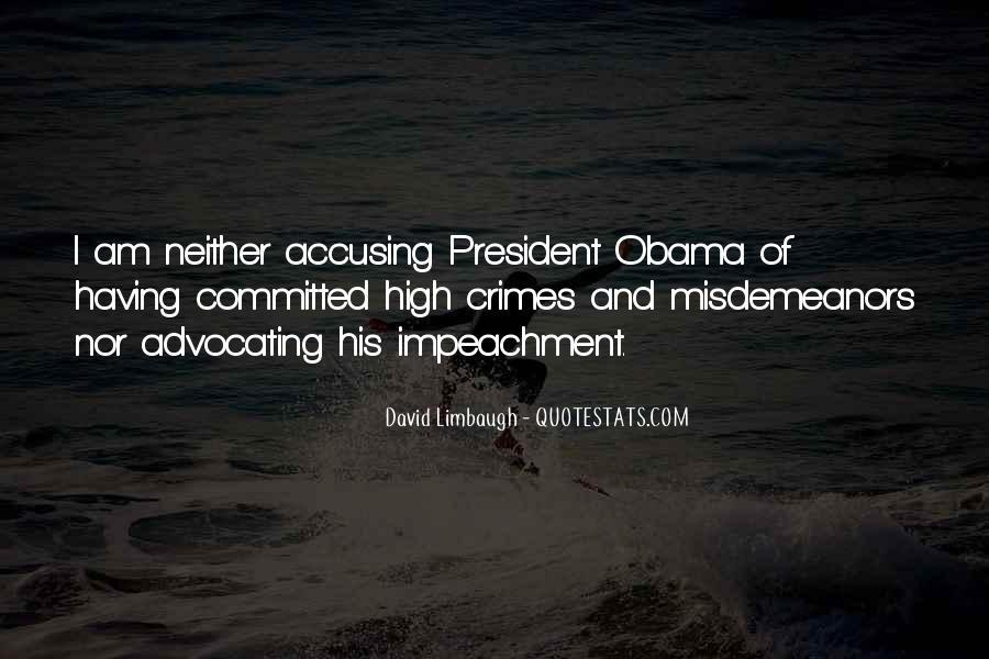 Quotes About Impeachment #180856