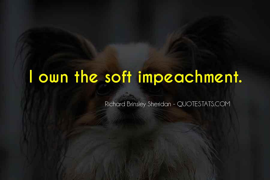 Quotes About Impeachment #204079