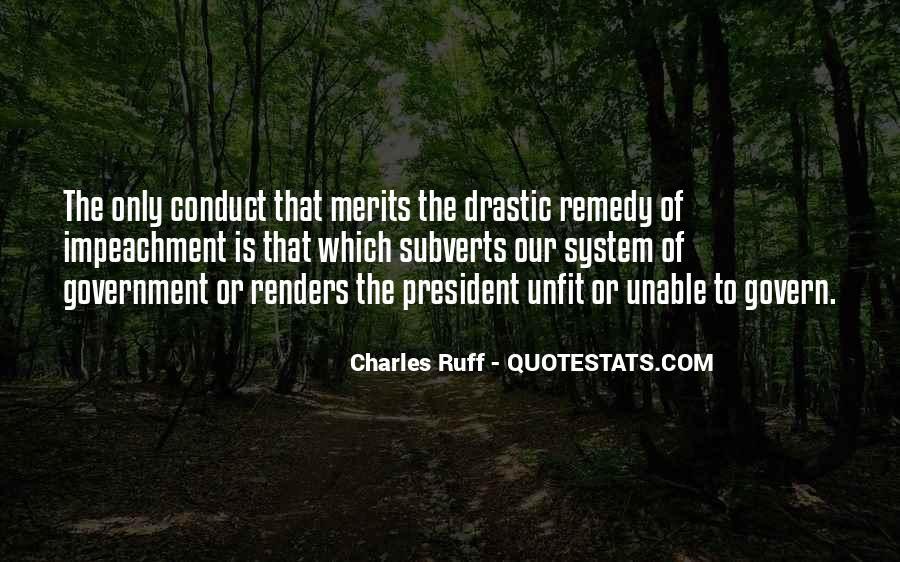 Quotes About Impeachment #612860