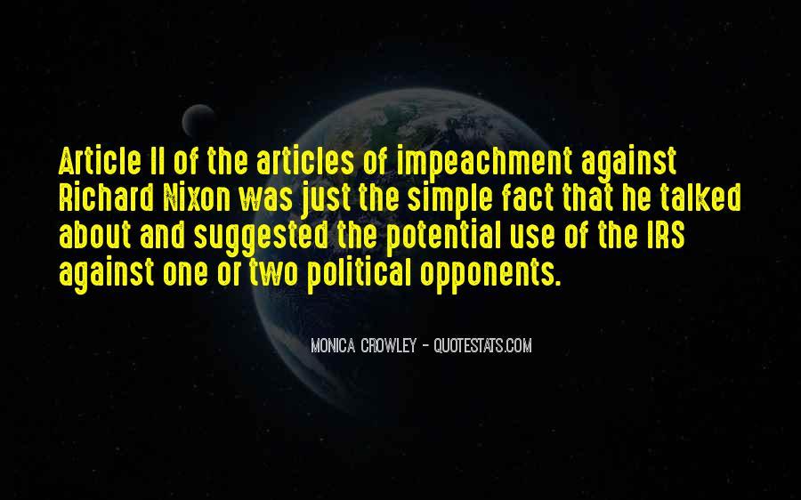 Quotes About Impeachment #79137