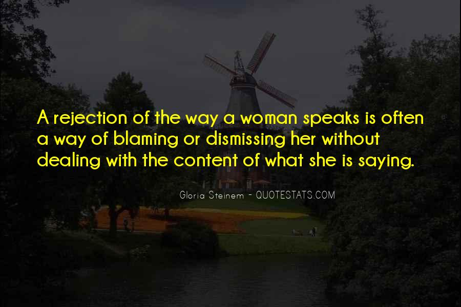 Quotes About Blaming Someone #112996