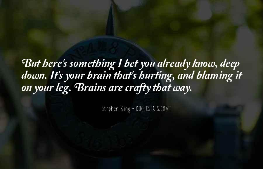 Quotes About Blaming Someone #176513