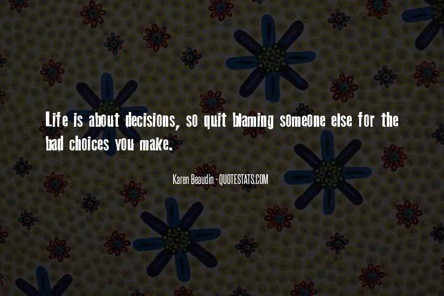 Quotes About Blaming Someone #1853219