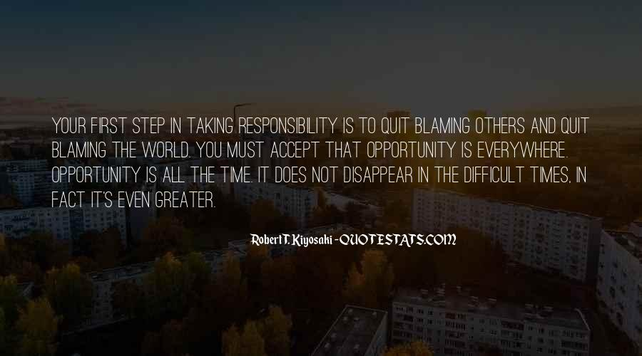 Quotes About Blaming Someone #196553