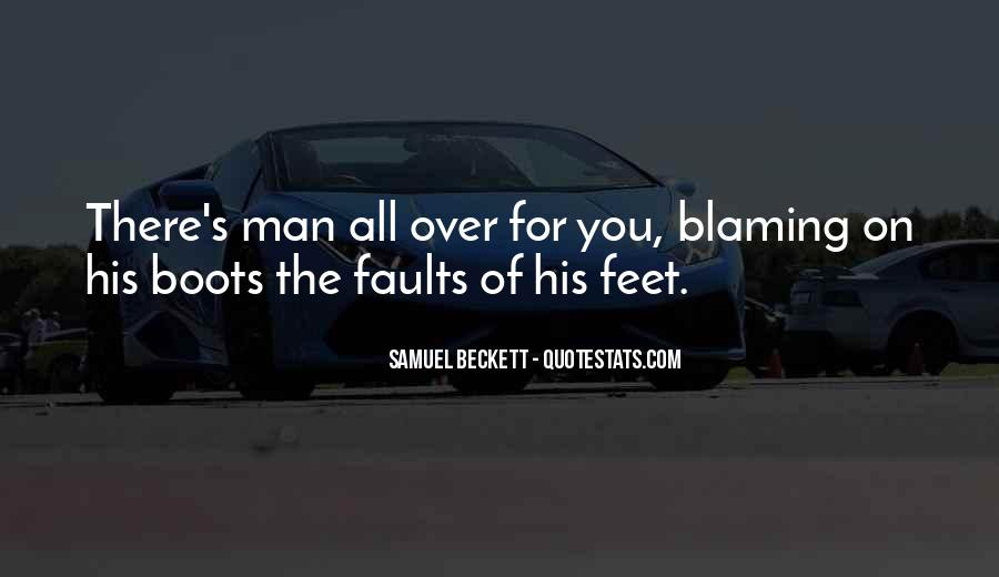 Quotes About Blaming Someone #233333