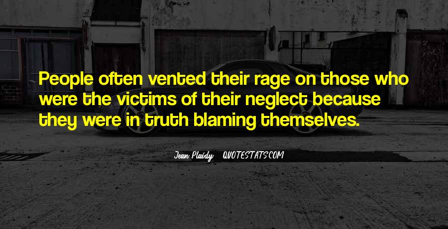 Quotes About Blaming Someone #250222