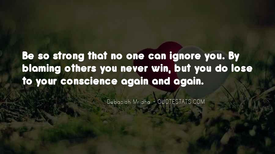 Quotes About Blaming Someone #34561