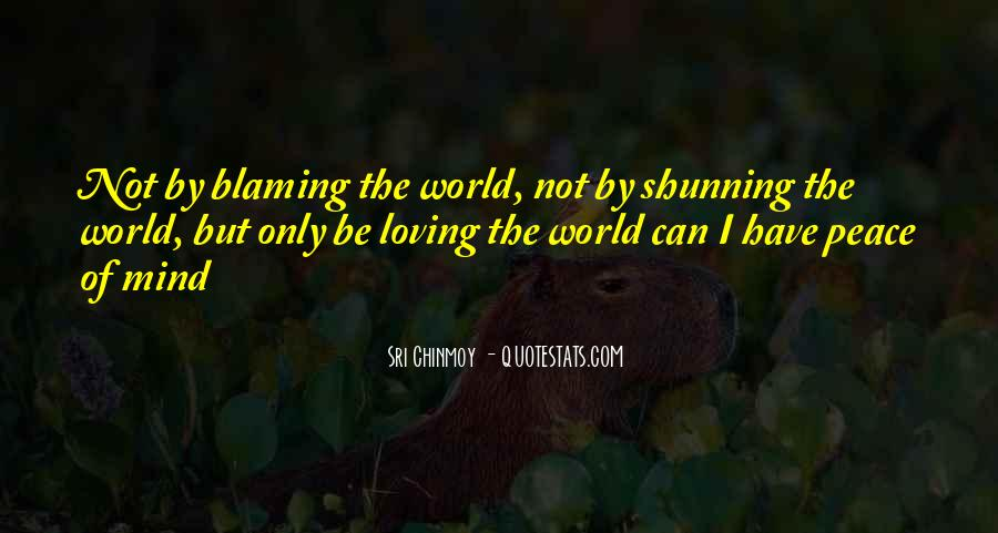 Quotes About Blaming Someone #42876