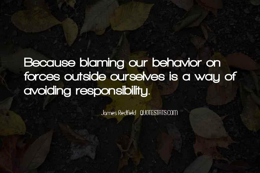 Quotes About Blaming Someone #61857