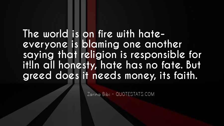 Quotes About Blaming Someone #84517