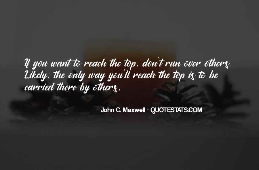 Quotes About Over The Top #158282