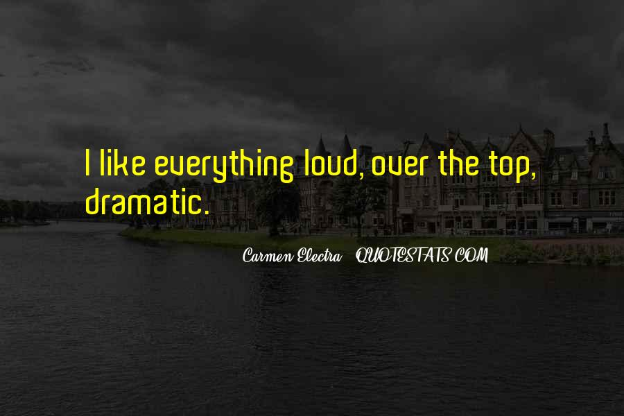Quotes About Over The Top #272167