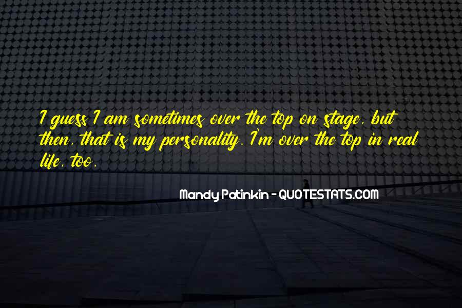 Quotes About Over The Top #442999