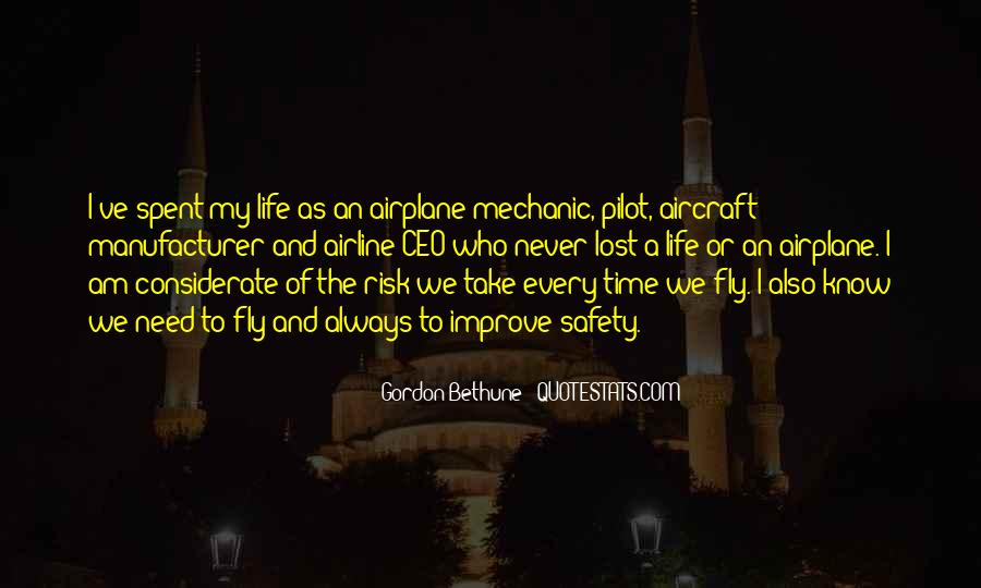 Quotes About Airline Pilot #1094690