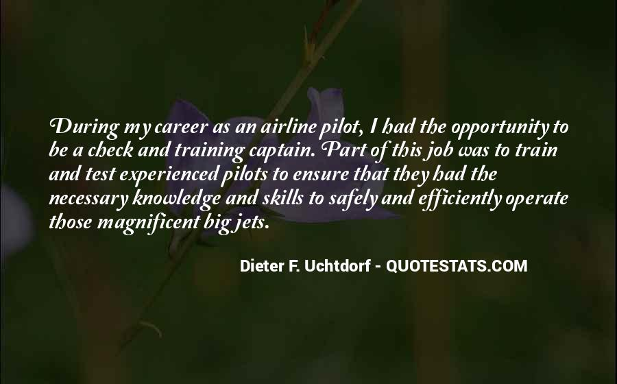 Quotes About Airline Pilot #1662141