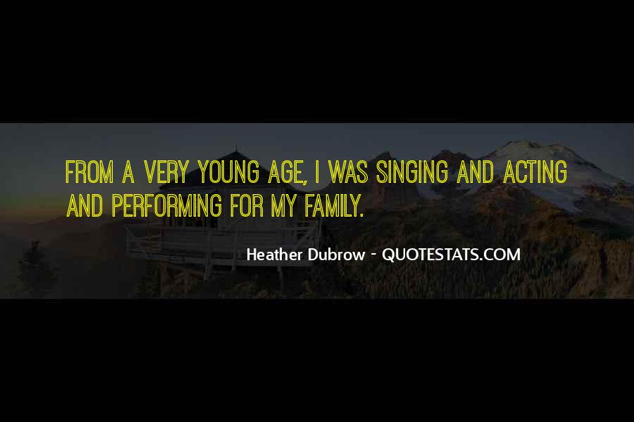 Quotes About Singing And Performing #175690