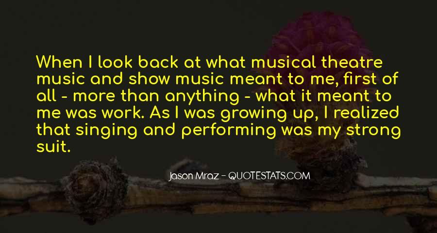 Quotes About Singing And Performing #220968