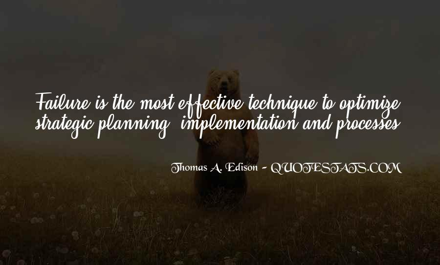 Quotes About Strategic Planning #1458703