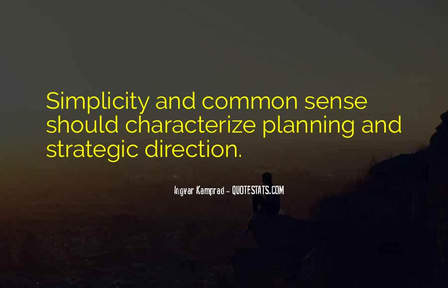 Quotes About Strategic Planning #1493788
