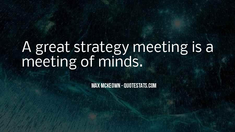 Quotes About Strategic Planning #1521071
