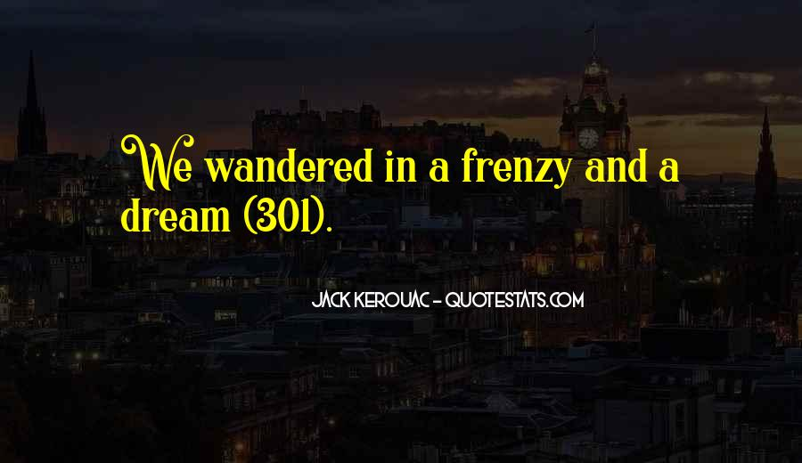 Quotes About Frenzy #207485