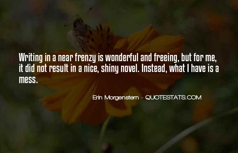 Quotes About Frenzy #411244