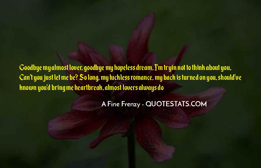 Quotes About Frenzy #967627