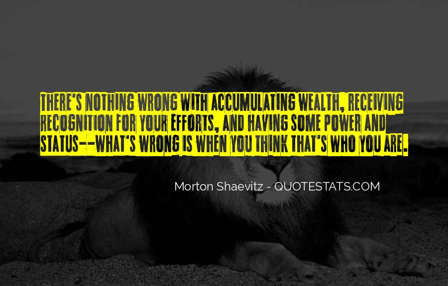Quotes About Accumulating Wealth #1742203
