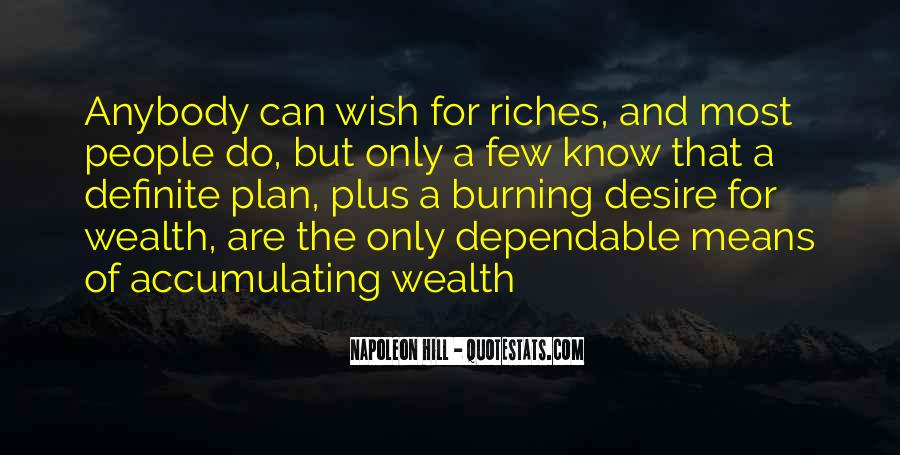 Quotes About Accumulating Wealth #1829621