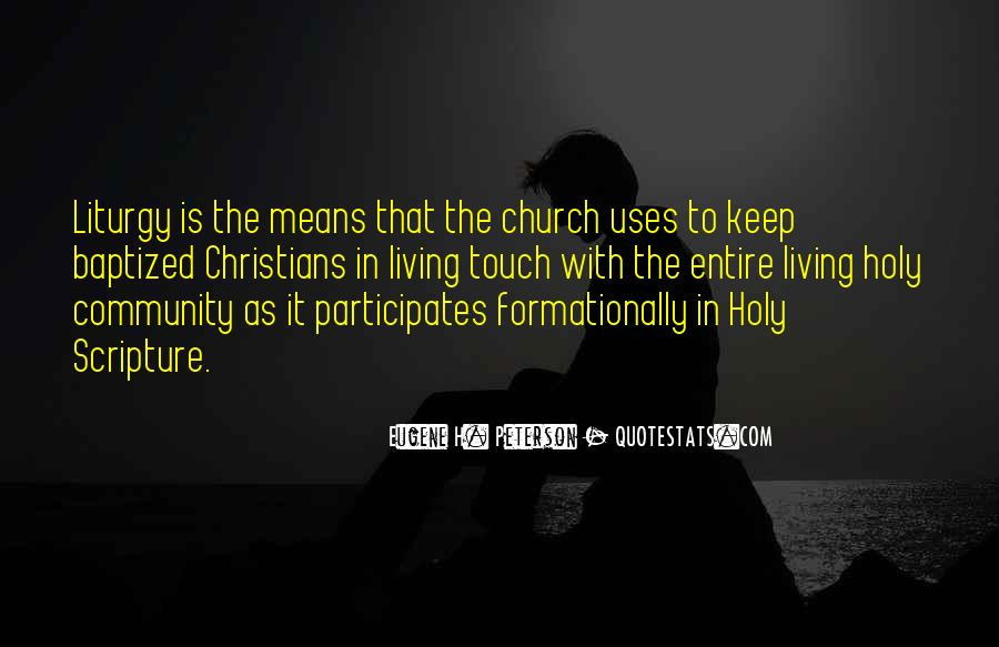Quotes About Baptized #1078452