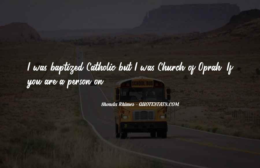 Quotes About Baptized #108475