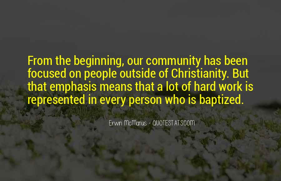 Quotes About Baptized #1088064