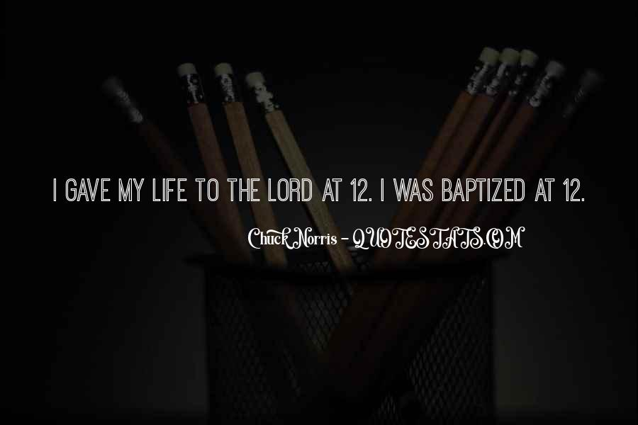 Quotes About Baptized #1105281