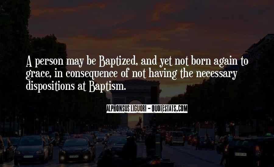 Quotes About Baptized #118077