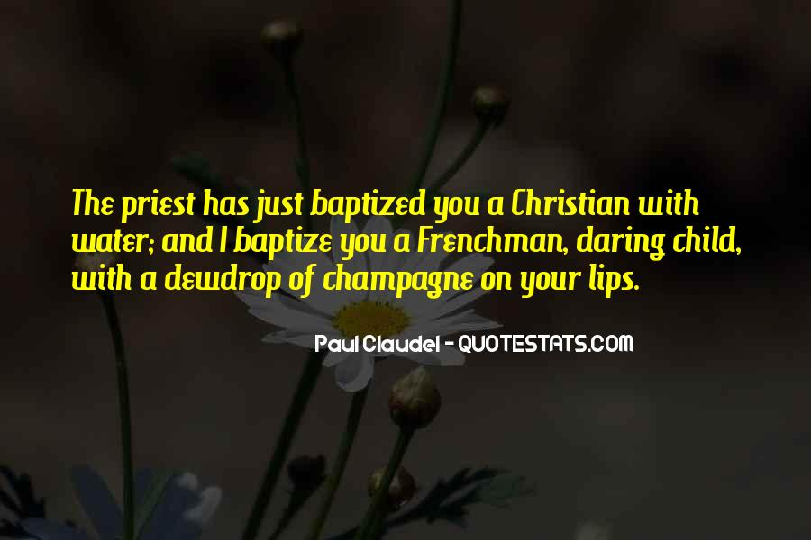 Quotes About Baptized #1294808