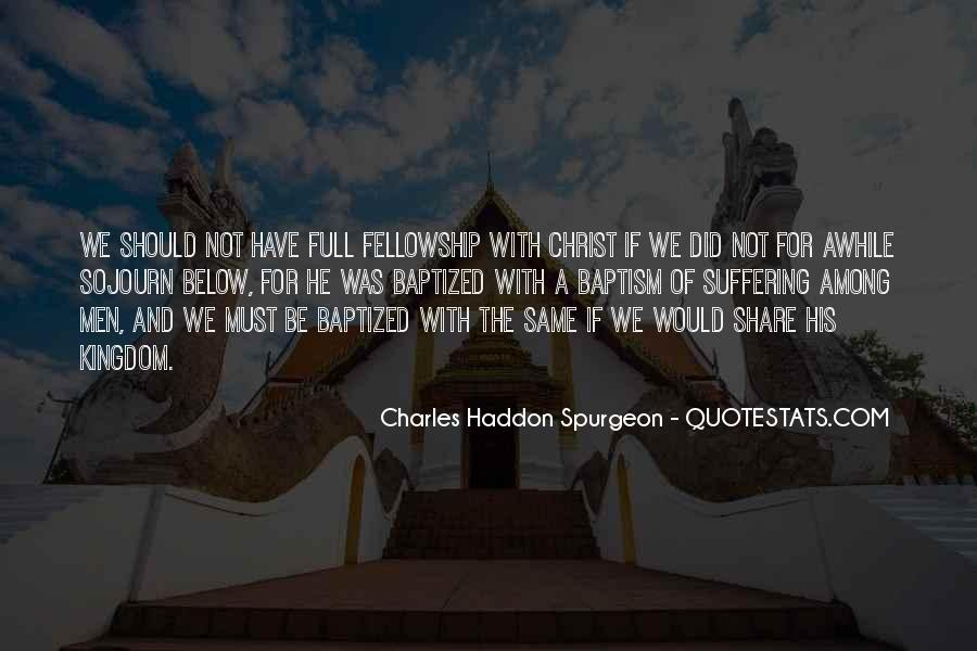 Quotes About Baptized #1372969