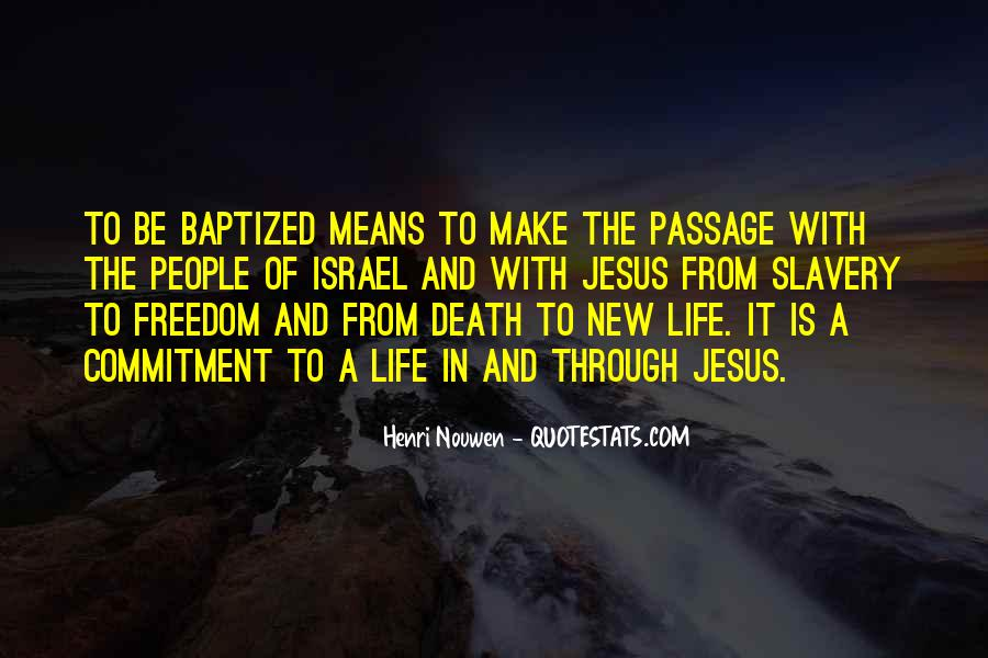 Quotes About Baptized #1433930