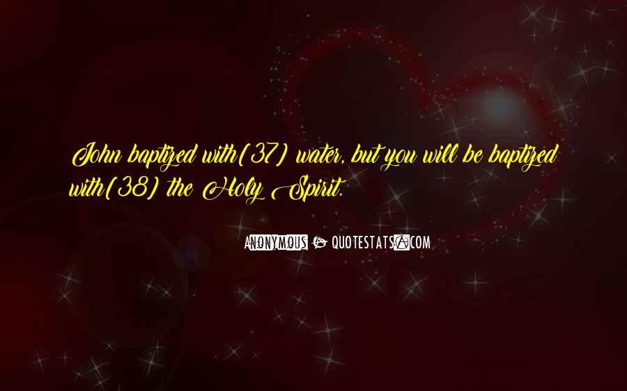 Quotes About Baptized #414906