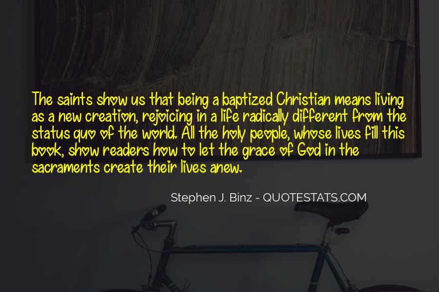 Quotes About Baptized #428542