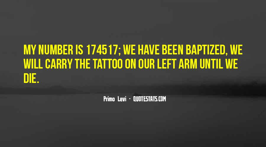 Quotes About Baptized #428848