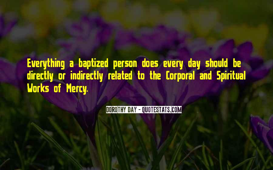 Quotes About Baptized #490808