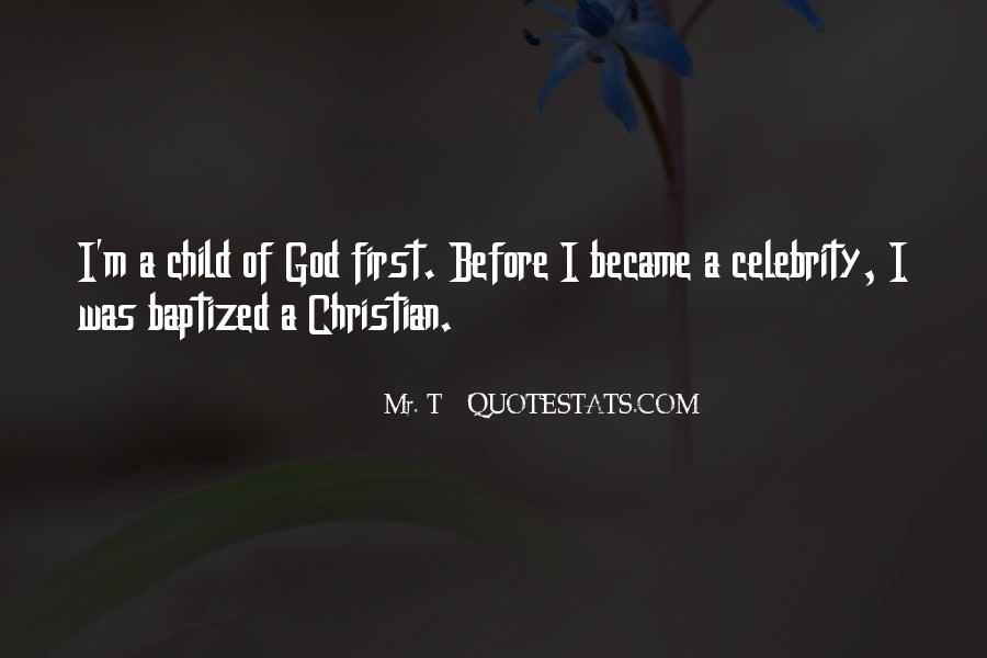 Quotes About Baptized #567585