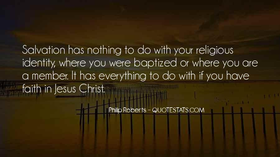 Quotes About Baptized #620581
