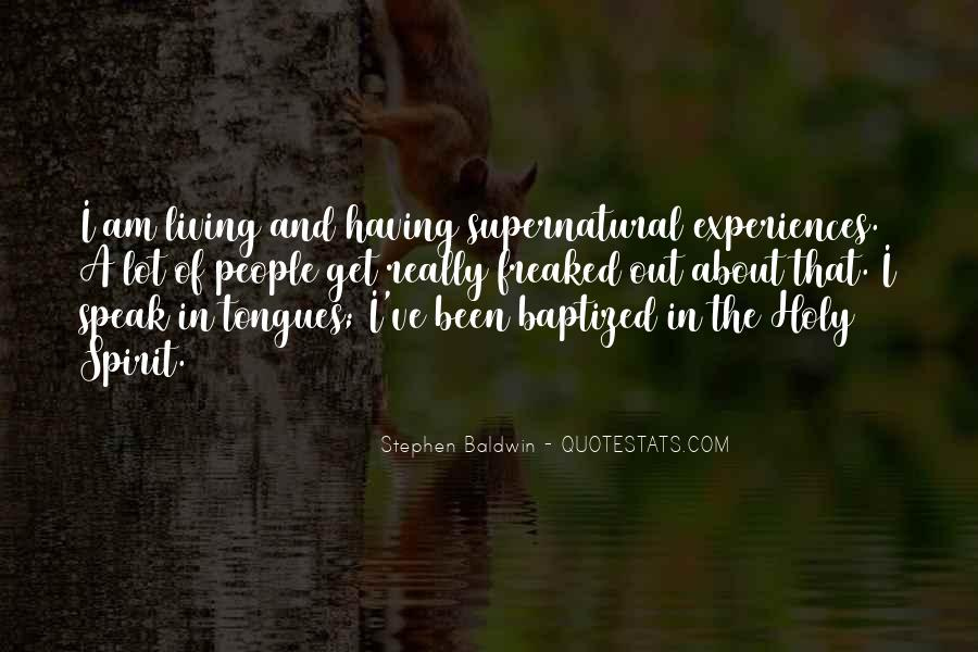 Quotes About Baptized #631015