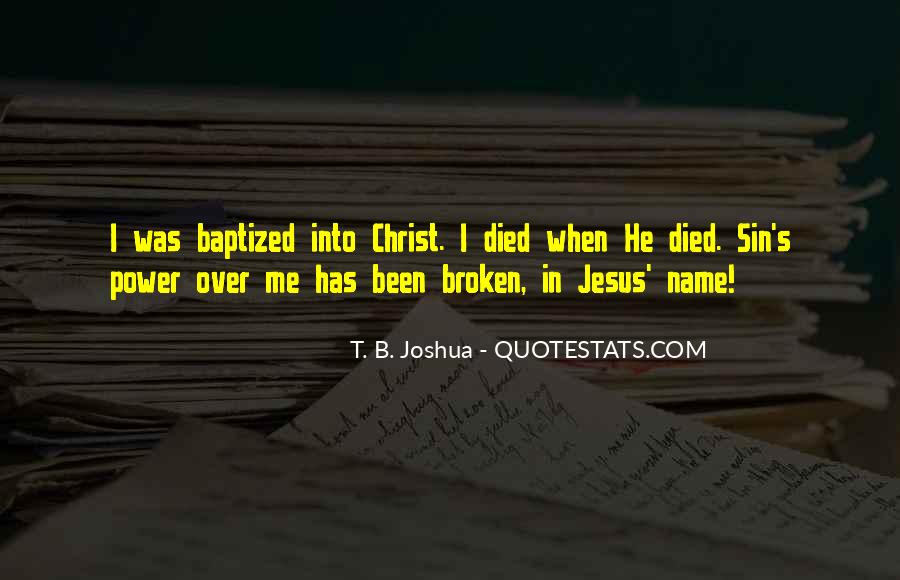 Quotes About Baptized #638412