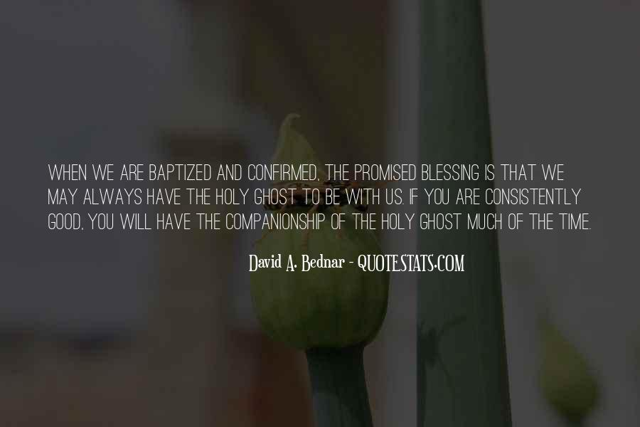 Quotes About Baptized #651035