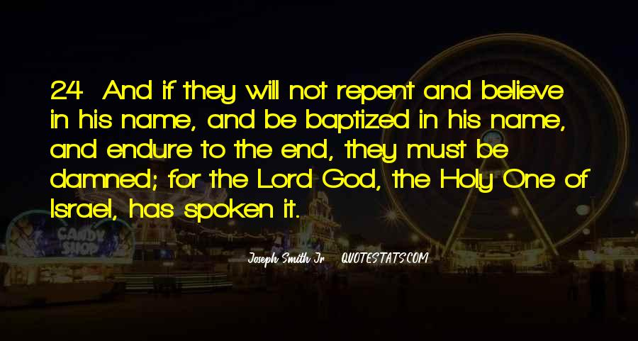 Quotes About Baptized #911996