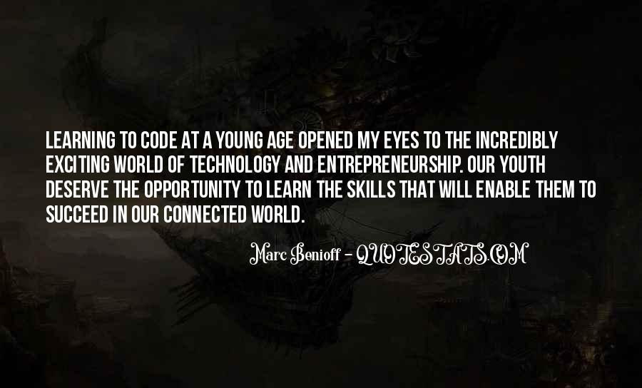 Quotes About Young Entrepreneurship #296777