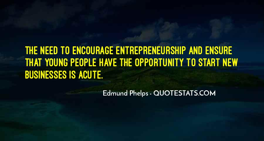 Quotes About Young Entrepreneurship #311066